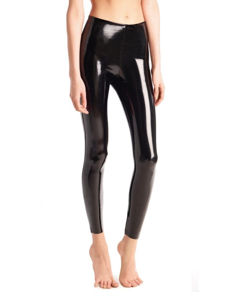 Commando Faux Patent Leather Leggings | How to Wear Leather Leggings
