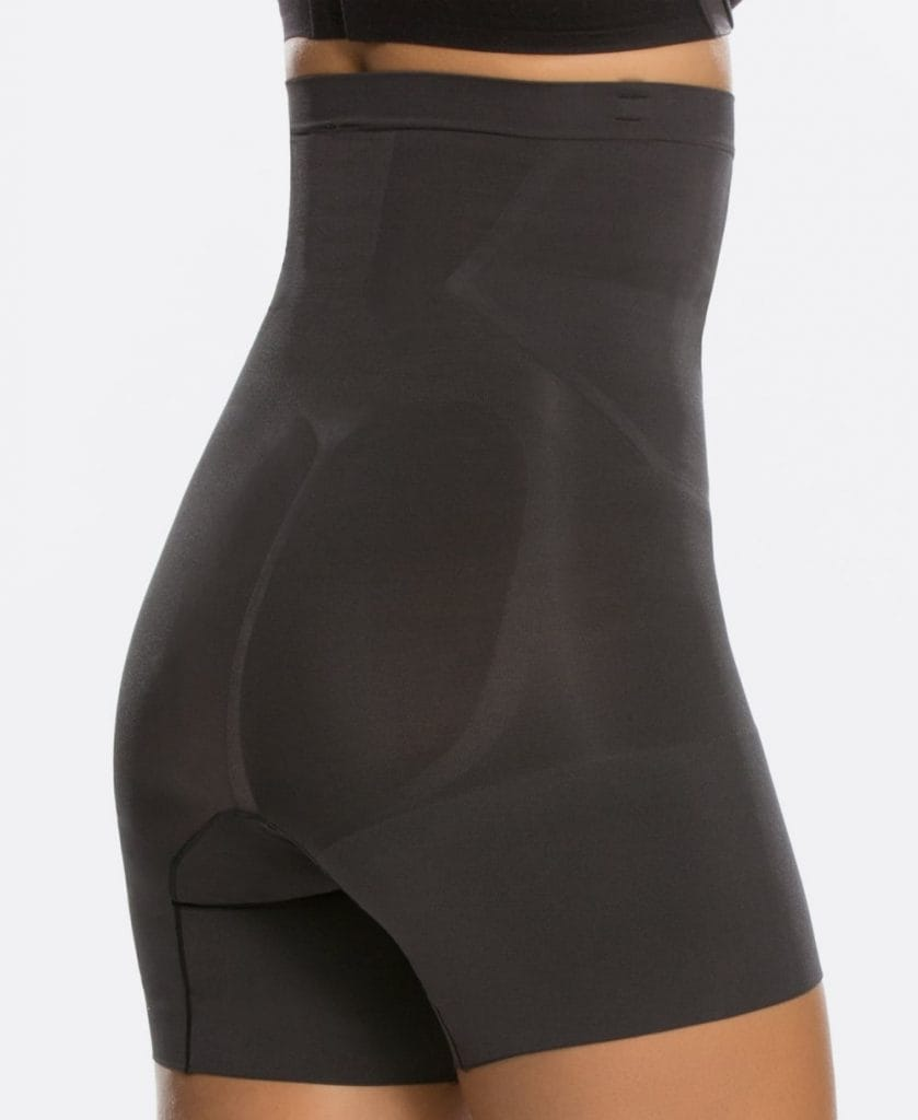 SPANX OnCore High-Waisted Mid-Thigh Shorts, £66