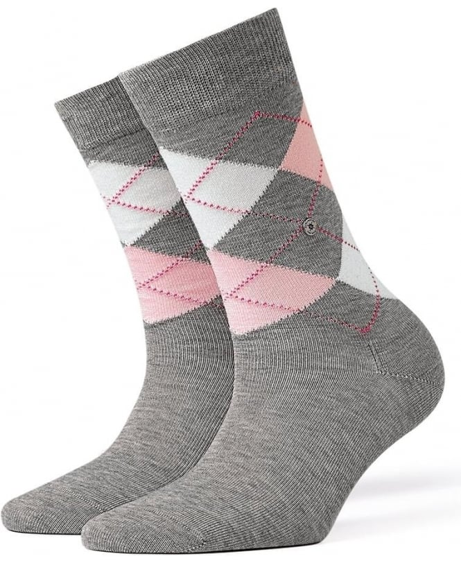 Burlington Covent Garden Cotton Argyle Socks