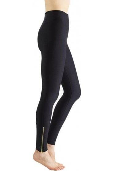 Control Leggings with Ankle Zip