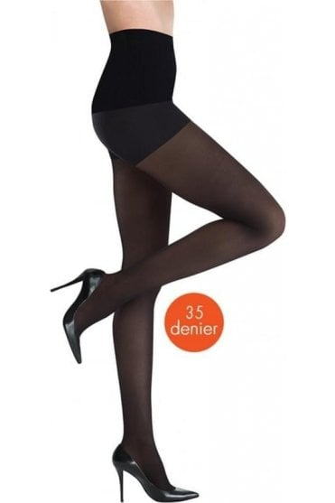 Semi Opaque 35 Denier Control-Top Tights