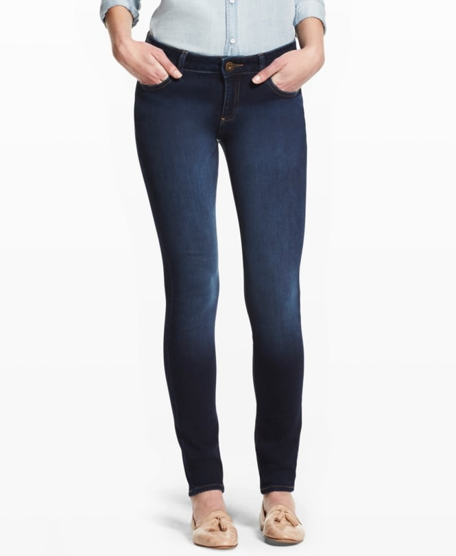 DL1961 Florence Sculpting Skinny Jean Dark Blue