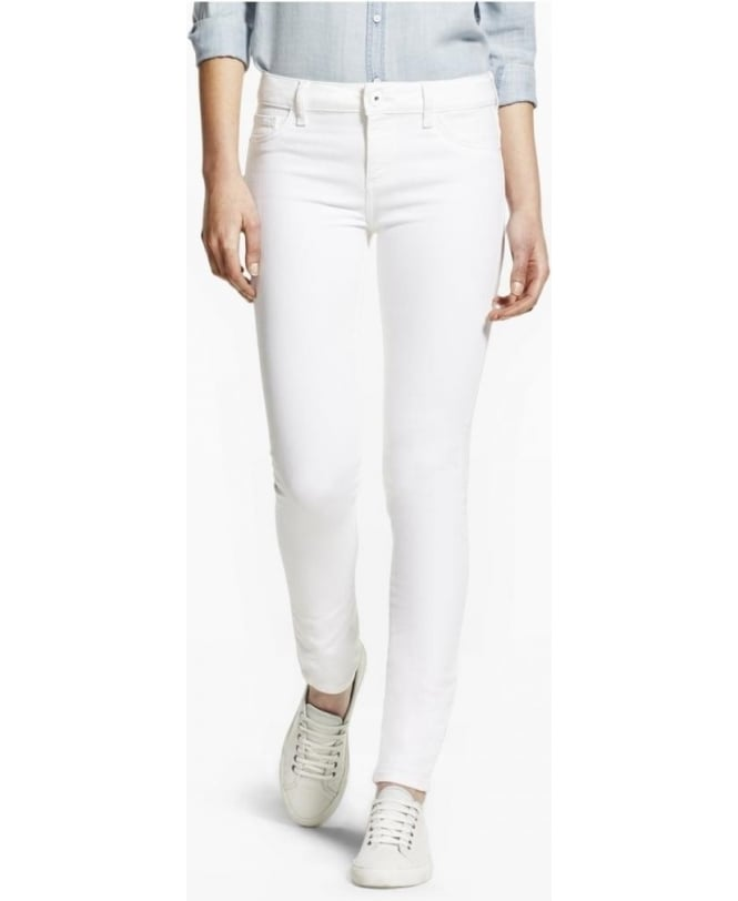 DL1961 Florence Sculpting Skinny Jean White