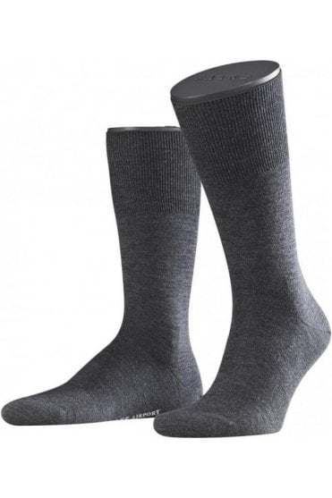 Airport Mens Wool & Cotton Socks
