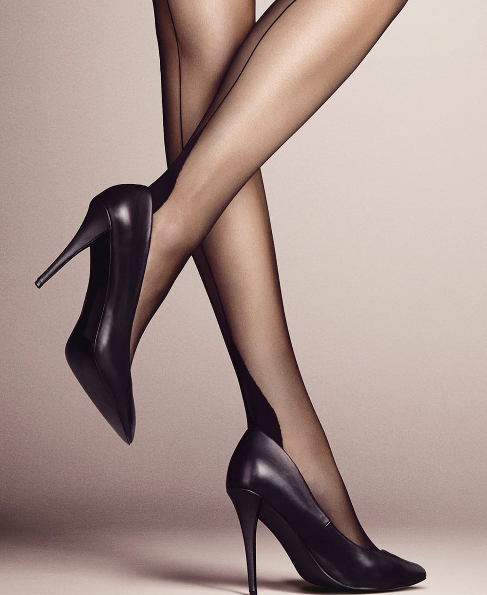 ac3fcc38a Falke High Heel Back Seam Tights - Tights from luxury-legs.com UK