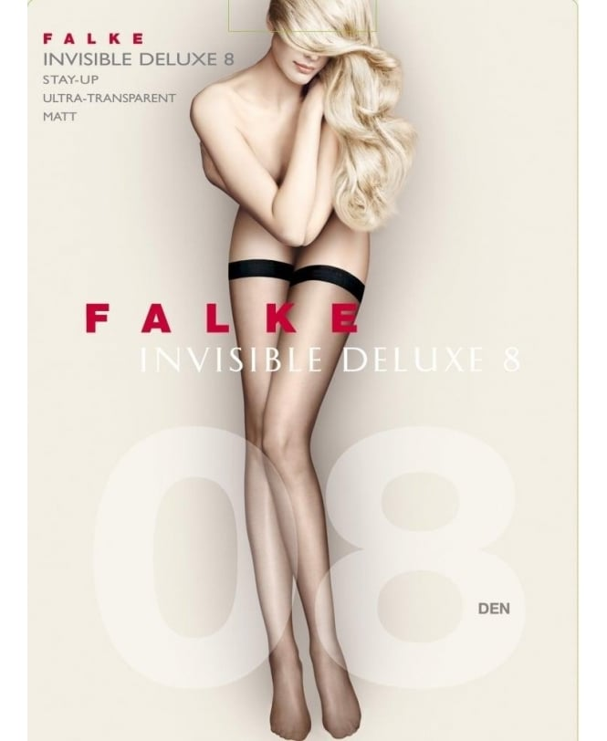 Falke Invisible Deluxe 8 Denier Stay-Ups