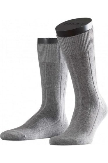 Lhasa Mens Wool & Cashmere Socks