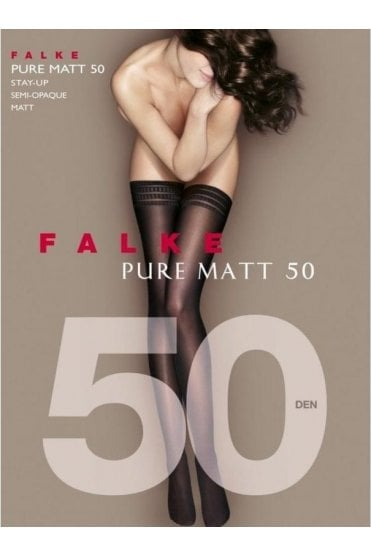 Pure Matte 50 Denier Stay-Ups