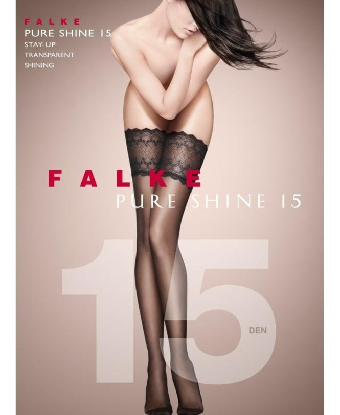 Falke Pure Shine 15 Denier Stay-Ups