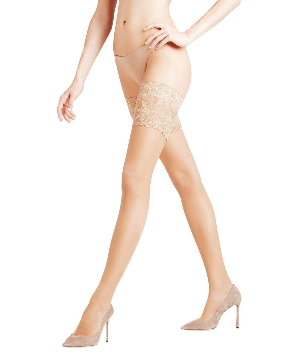 1ccdcbdcc Falke Seidenglatt 15 Deep Lace Stay Ups - Hold-Ups from luxury-legs ...