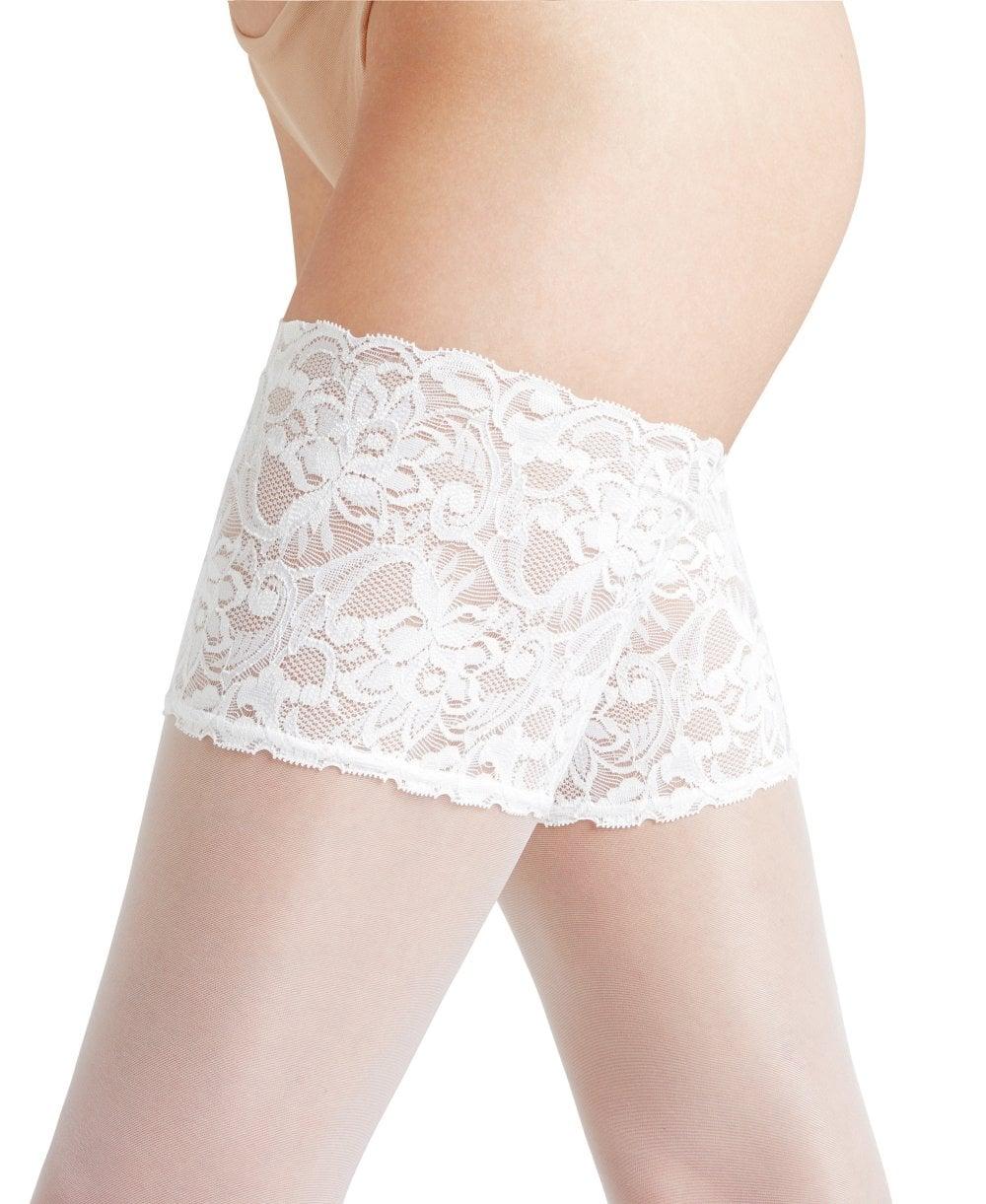 8ee0ebe11 Falke Seidenglatt 15 Deep Lace Stay Ups - Hold-Ups from luxury-legs ...