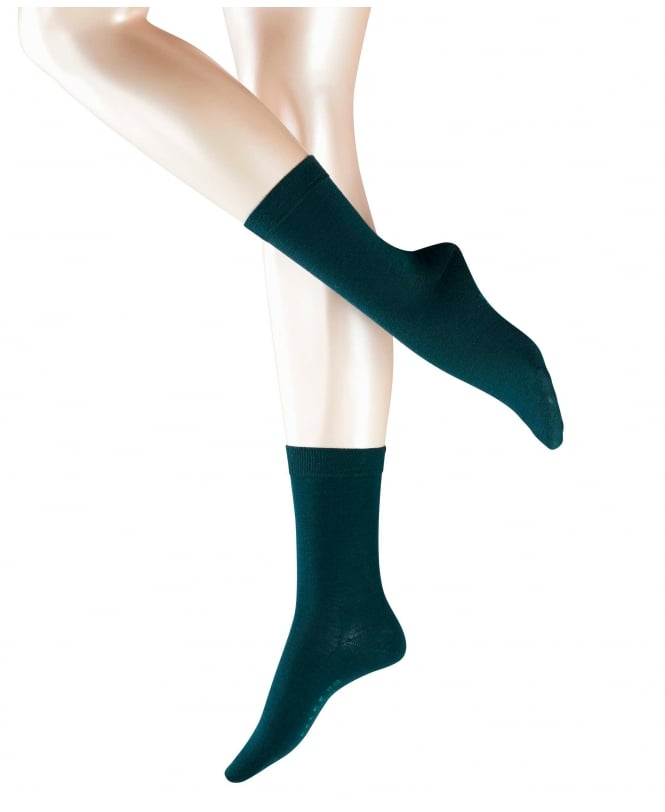 Falke Soft Merino and Cotton Ankle Socks