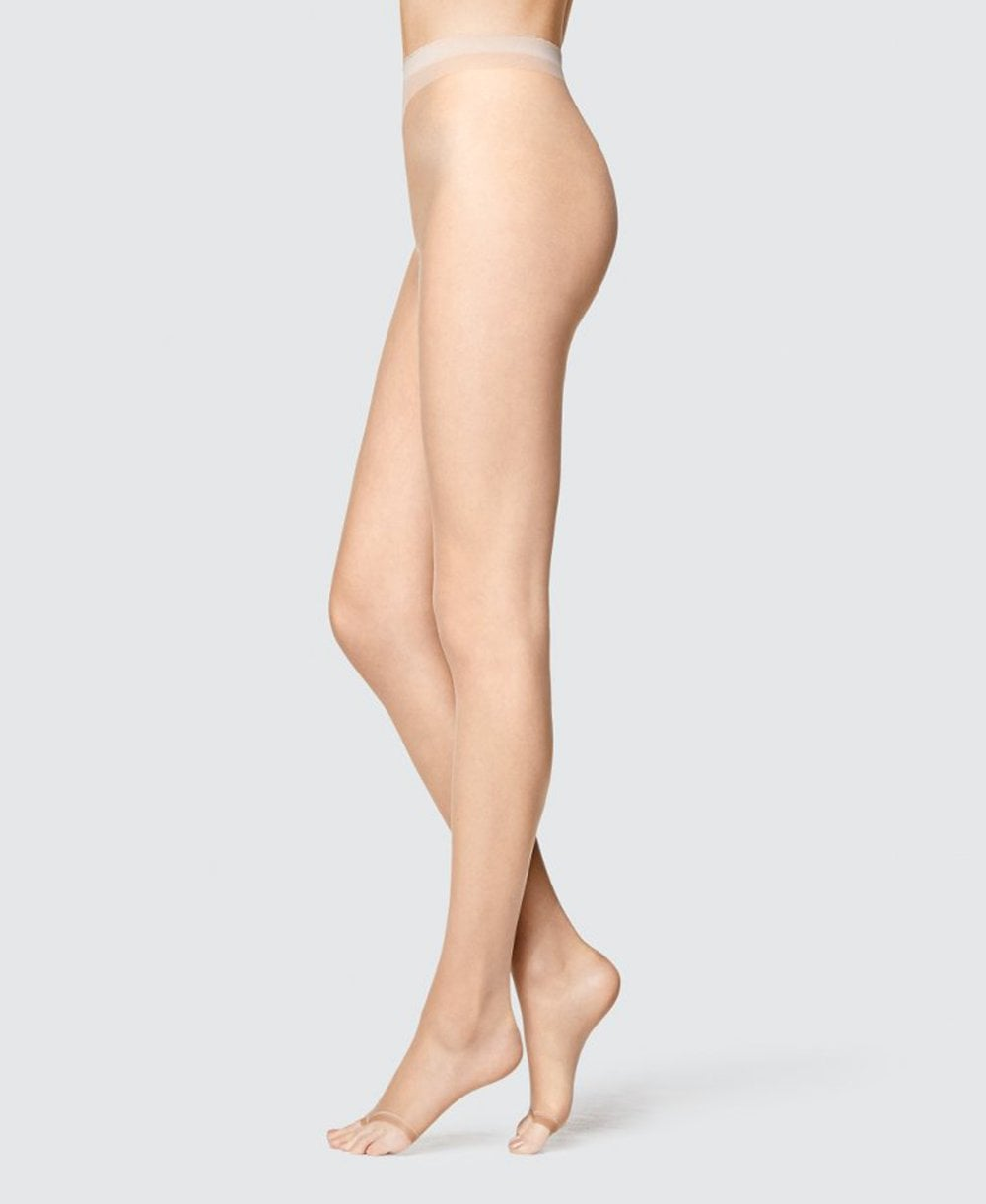 080b3473f Fogal All Nude 10 Denier Toeless Tights - Tights from luxury-legs.com UK