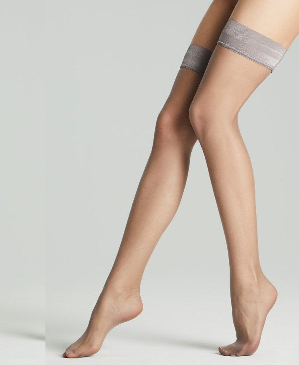 1cba8ec73 Fogal Catwalk 10 Denier Stay-Ups - Hold-Ups from luxury-legs.com UK