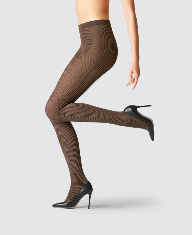 Fogal Gia Silk Ribbed Tights