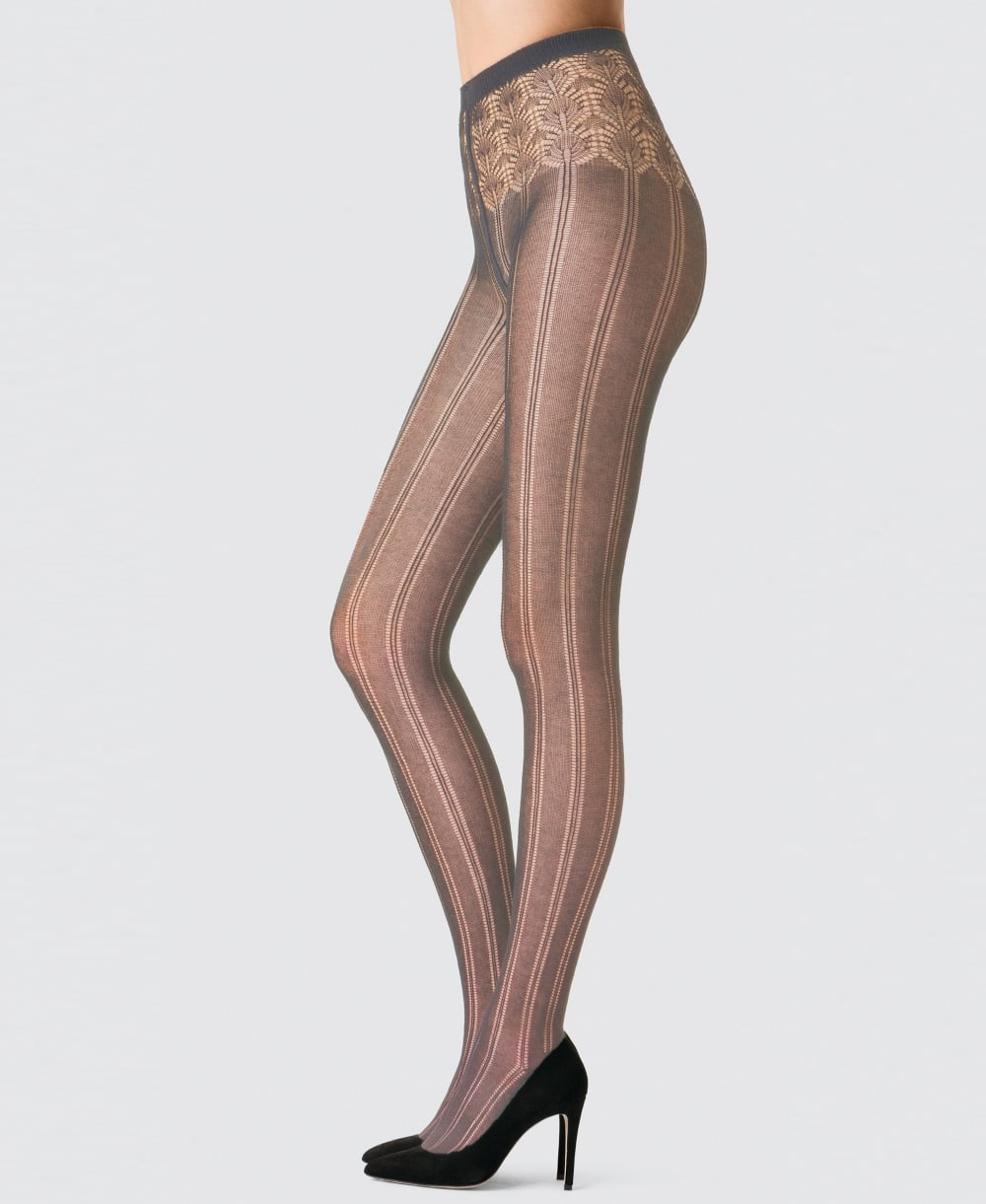 e29945fdecd Fogal Ihana Cotton Ajoure Tights - Tights from luxury-legs.com UK