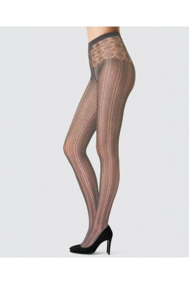Ihana Cotton Ajoure Tights