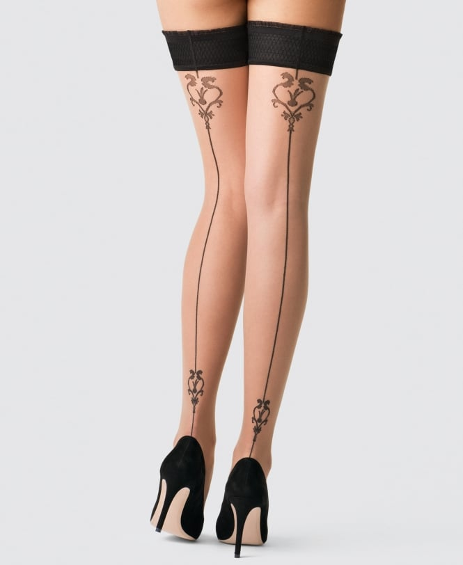 Fogal Imogen Seamed Hold Ups