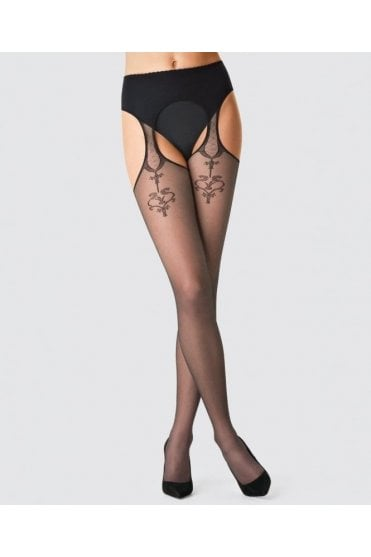 Imogen Suspender Tights