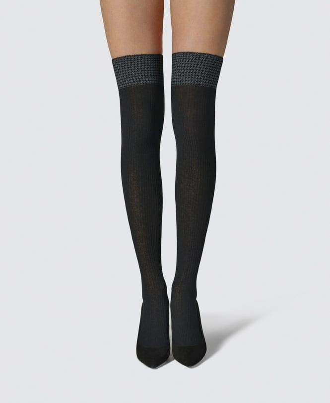 264582026 Fogal Kim Over-Knee Socks - Socks from luxury-legs.com UK