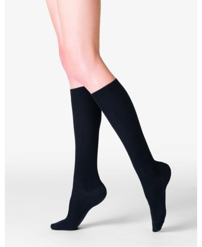 Fogal Nepal Fine Ribbed Wool, Silk and Cashmere Knee-Highs