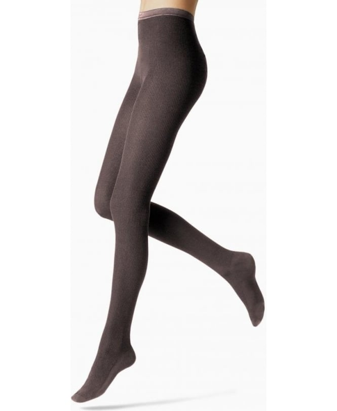 Fogal Nepal Fine Ribbed Wool, Silk & Cashmere Tights