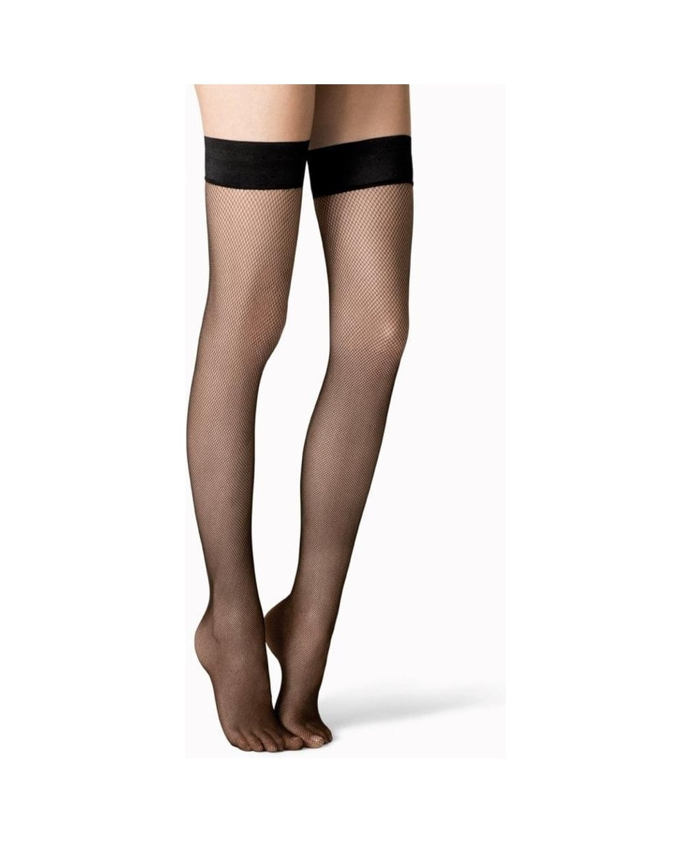 10ed4d6c0 Fogal Netlace Fishnet Stay-Ups - Hold-Ups from luxury-legs.com UK