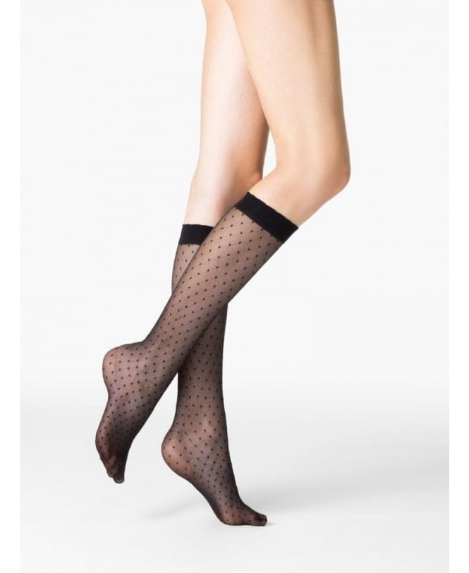 Fogal Pois Dots Knee-Highs
