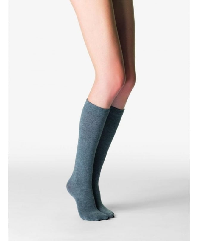 Fogal Touch Cotton & Cashmere Knee-Highs