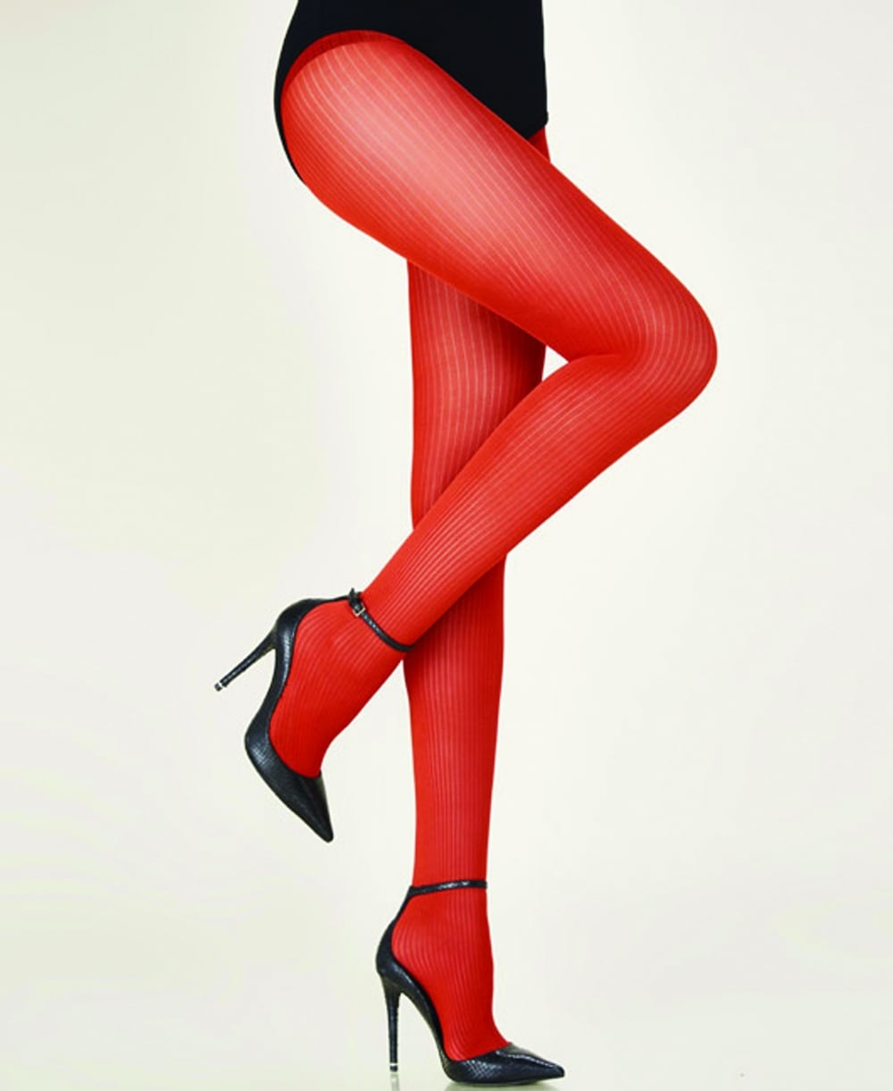 750517825d2 Gerbe Essentiel Fine Ribbed Tights - Tights from luxury-legs.com UK