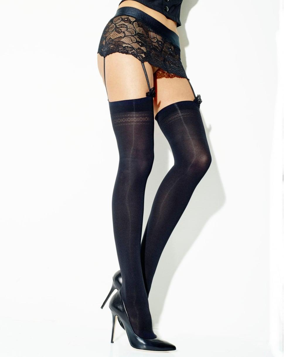 Girardi Seduire Stockings and Suspender Set - Stockings
