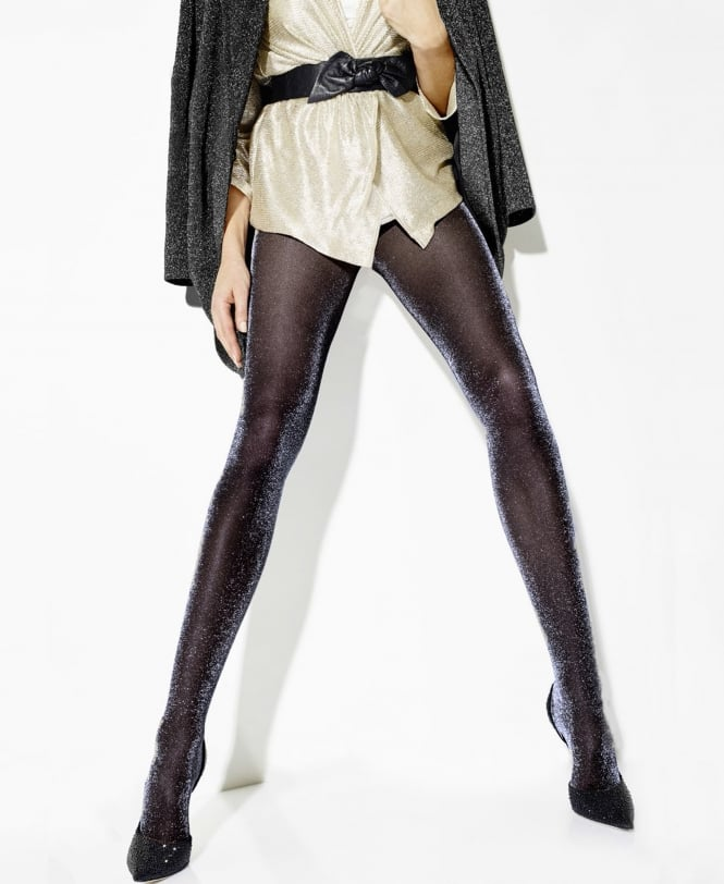 Girardi Starlight Lurex Glitter Tights