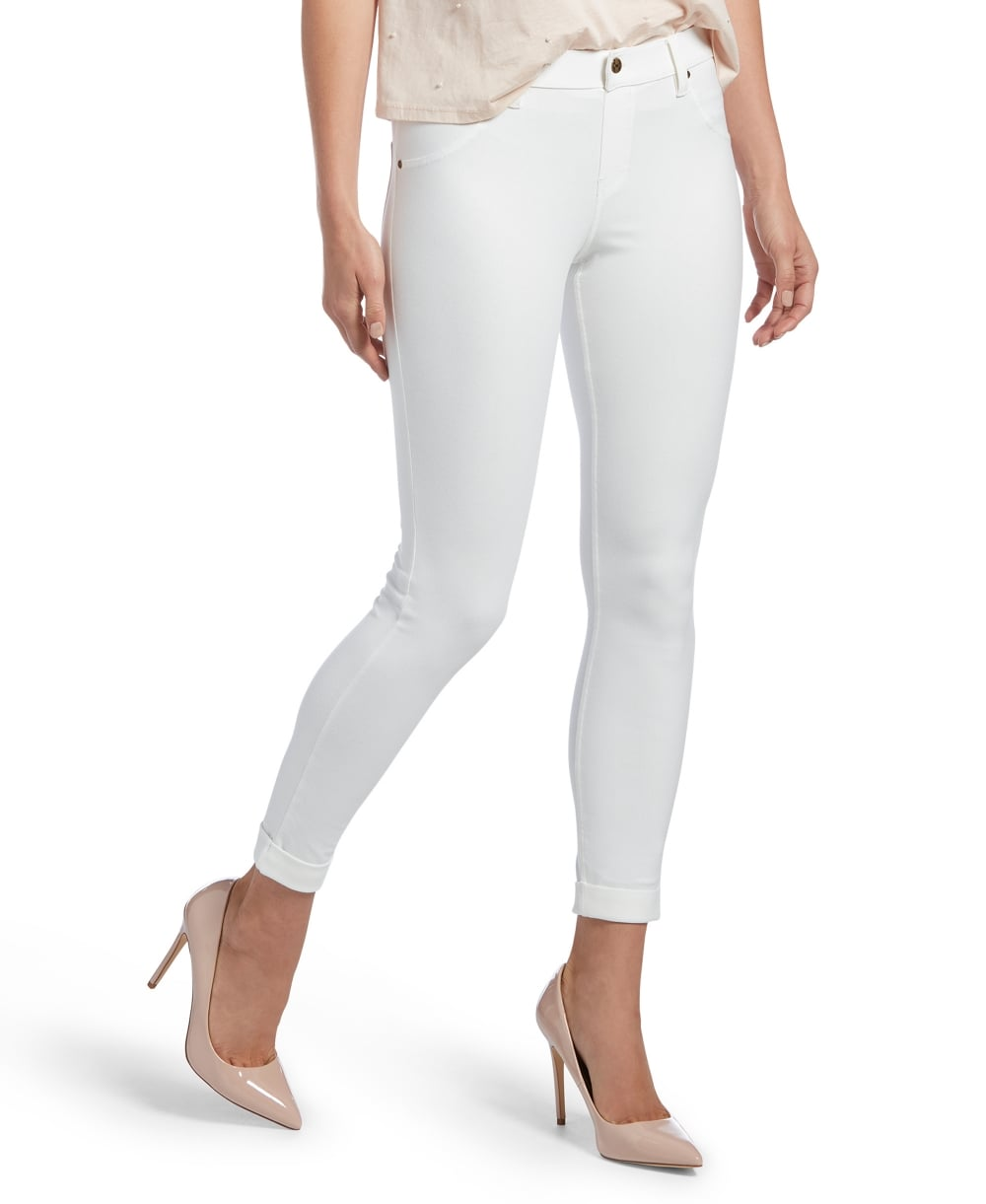 517ad7dd4cf887 HUE Cuffed Essential Denim Skimmer - Leggings from luxury-legs.com UK