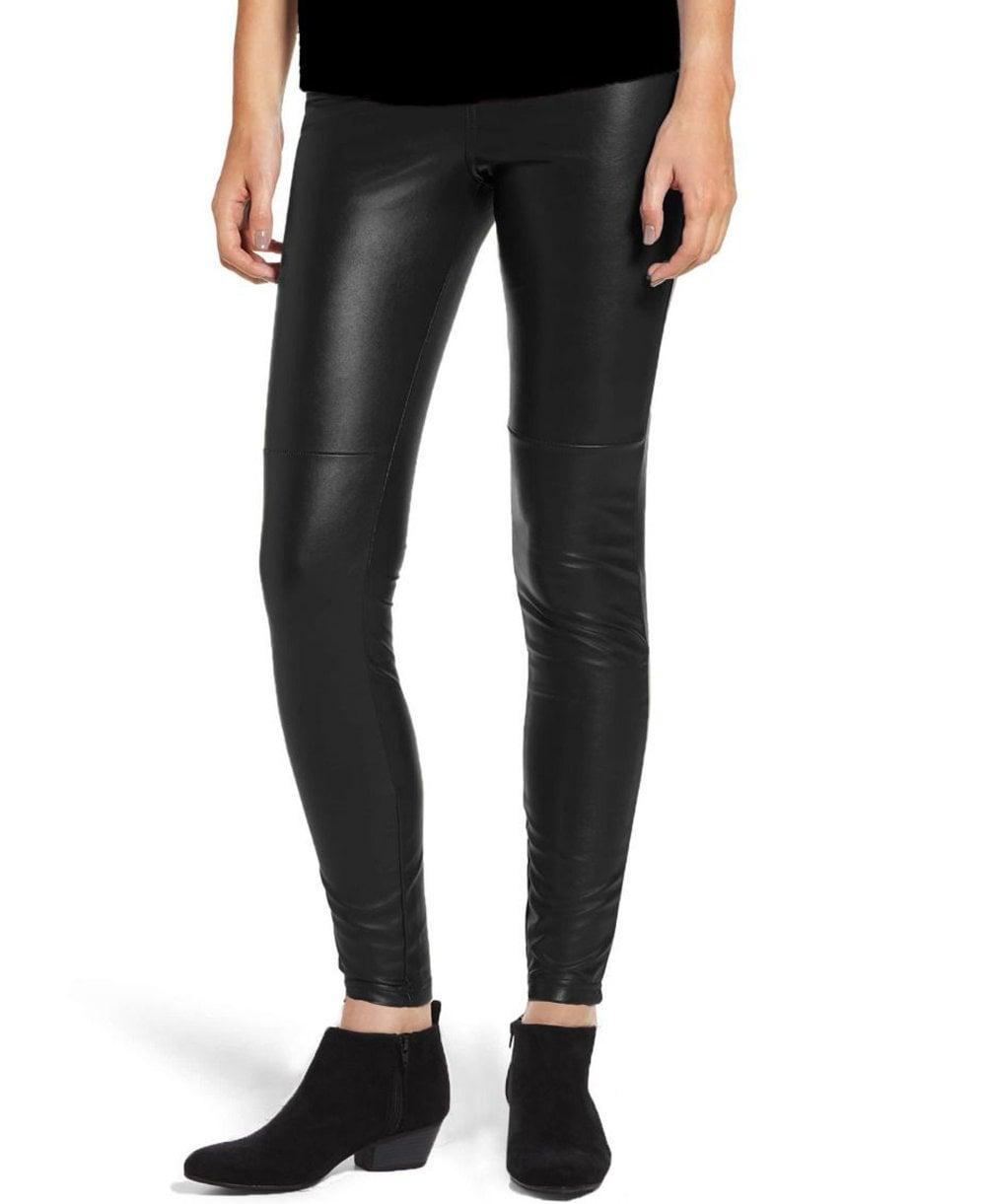83fb04e95e13a HUE Faux Leather Legging - Leggings from luxury-legs.com UK