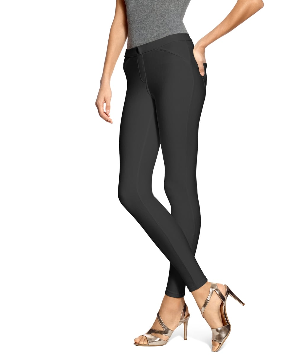 1e101ab768816e HUE Twill Leggings - Leggings from luxury-legs.com UK