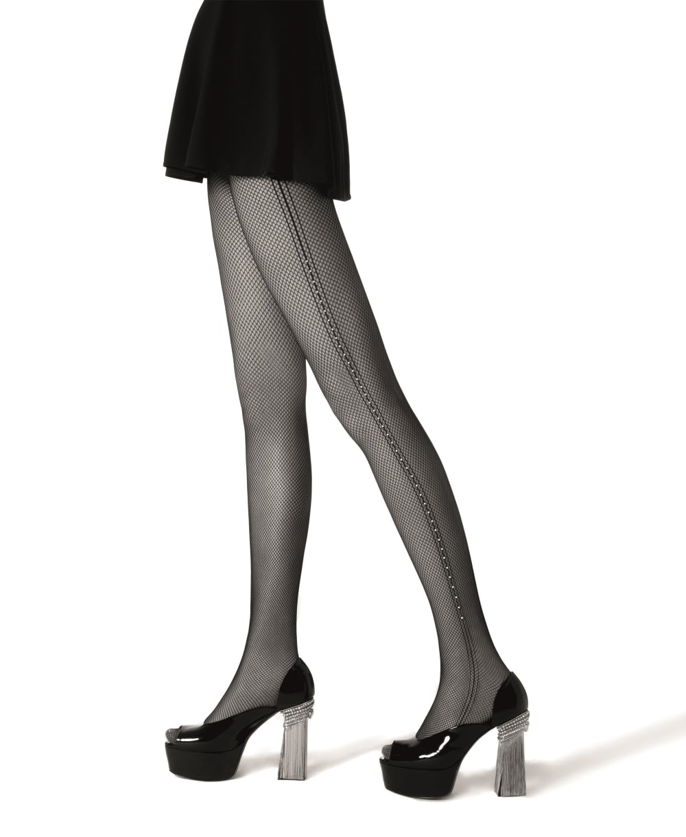 excellent quality classic styles good looking La Perla Crystal Dream Tights - Tights from luxury-legs.com UK