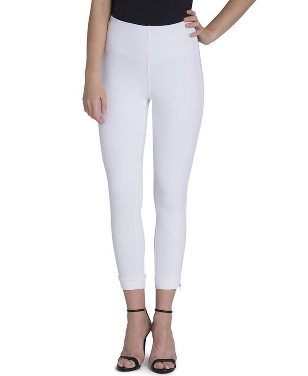 54db2daab81 Lysse Denim Cuffed Crop Legging - Leggings from luxury-legs.com UK