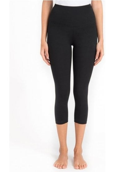 Jersey Cotton Capri Leggings