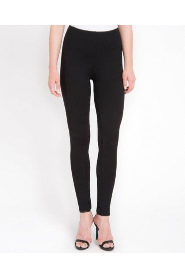 Mara French Seamed Ponte Leggings