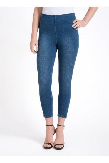 Toothpick Crop Legging
