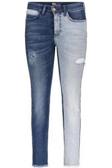 Angela Two Tone Jeans