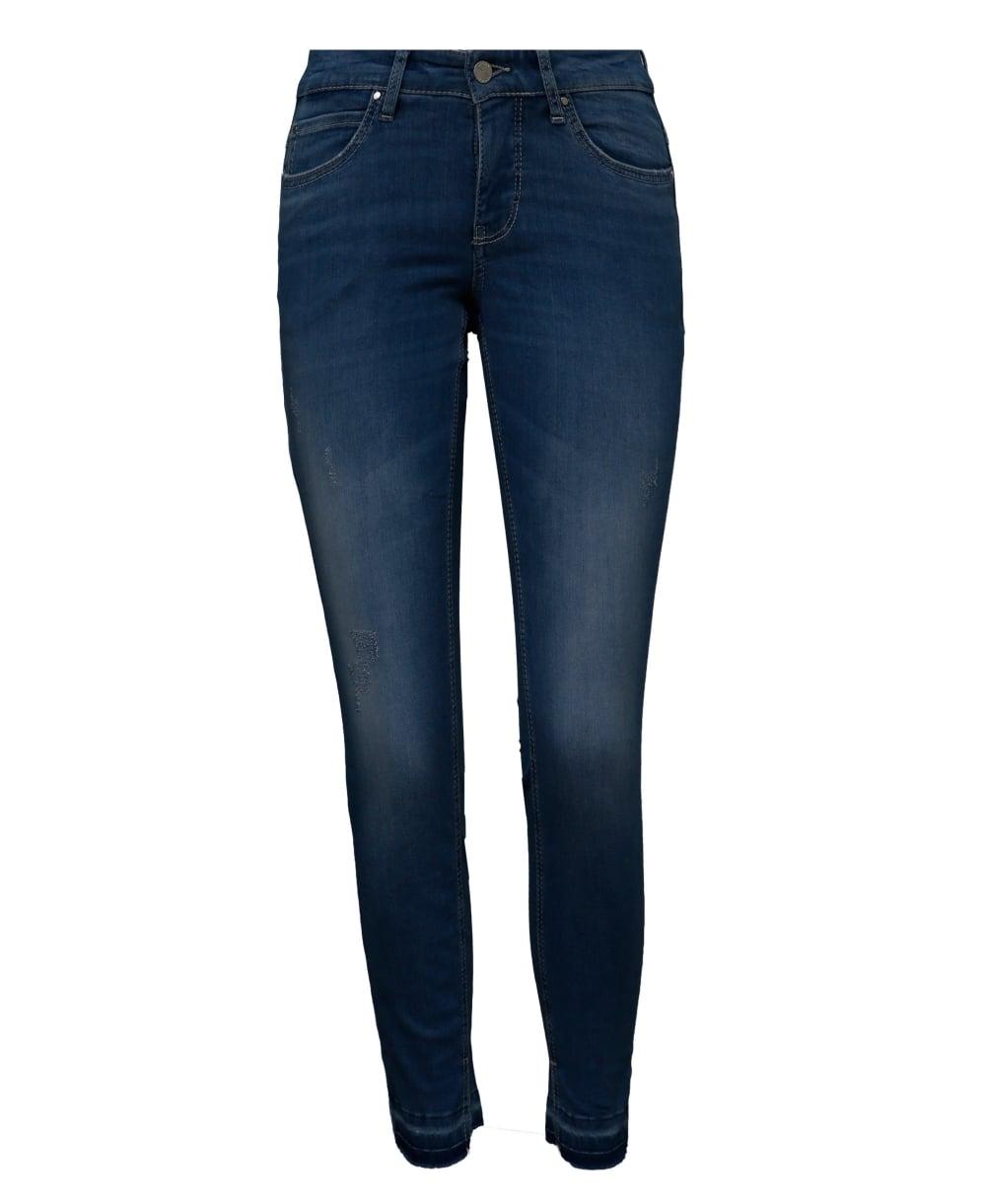 mac dream skinny fringe jeans from luxury uk. Black Bedroom Furniture Sets. Home Design Ideas