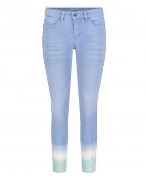 Women/'s Baby Blue Grey Green MAC Dream Shaping Straight Leg Jean UK Size 8-16