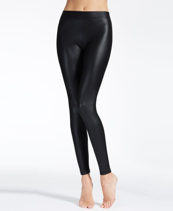 MaxMara Canto Leather Look Leggings