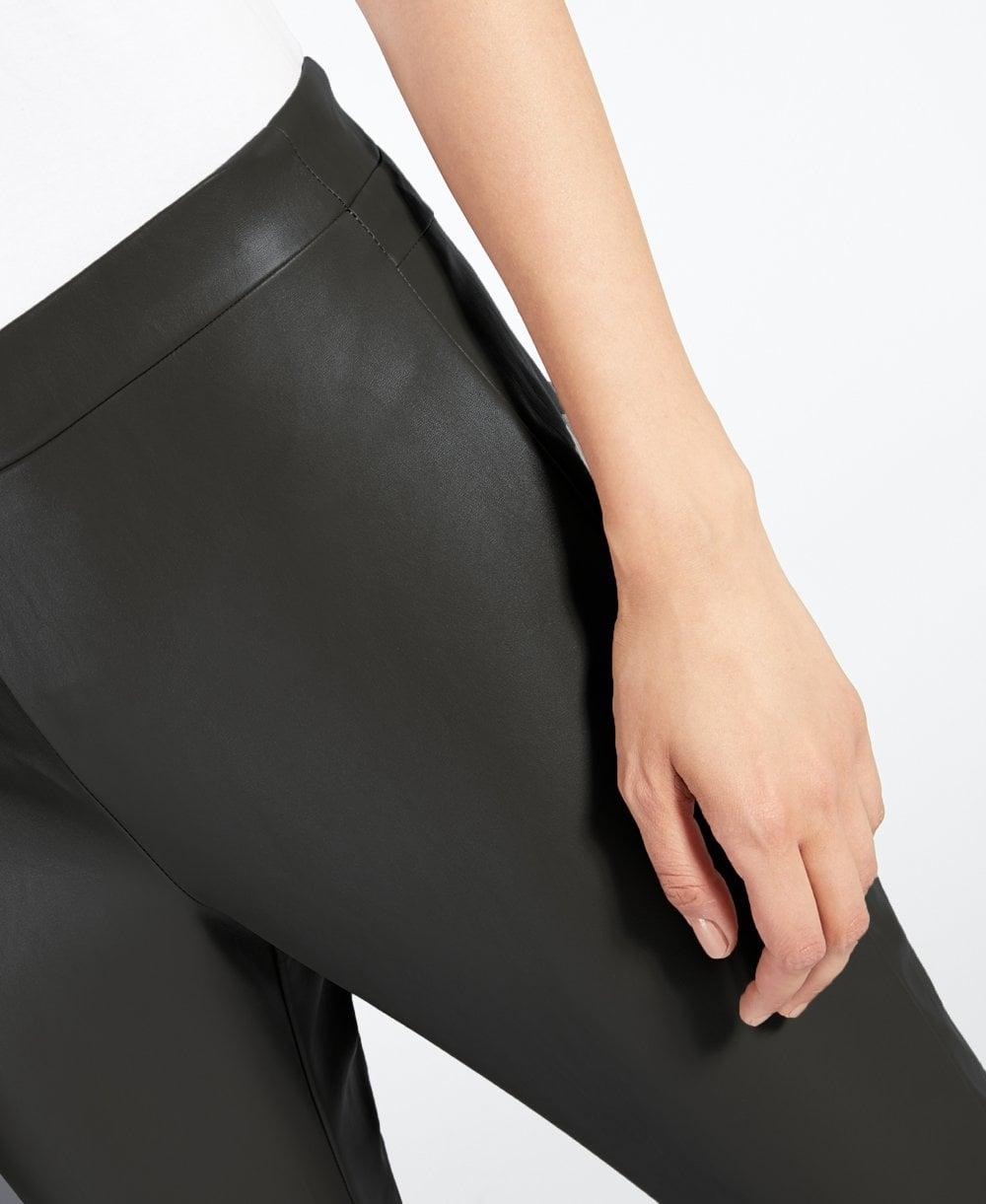 d3248b15165d2 MaxMara Darsena Leather Look Leggings - Leggings from luxury-legs.com UK