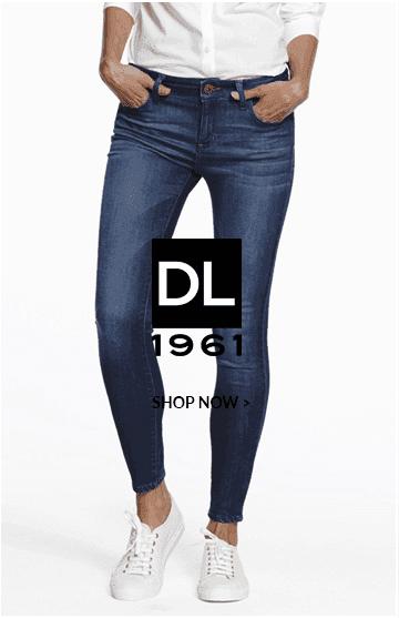 DL blue skinny jeans