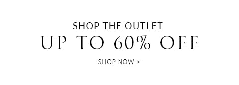 Outlet 60% off