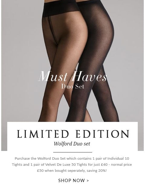 Wolford Duo set