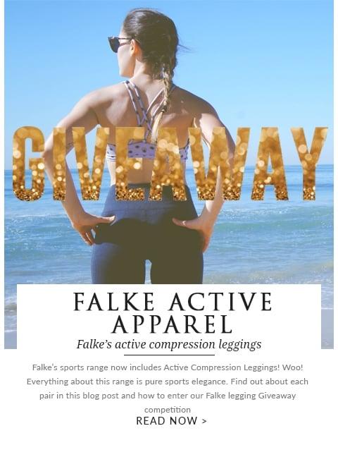 Falke active apparel giveaway