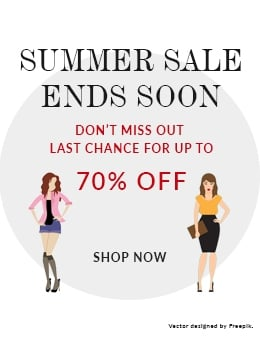 Summer Sale Ends